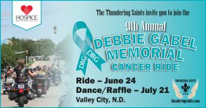 Debbie Gabel Memorial Cancer Ride and Raffle 2017