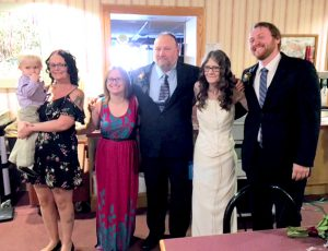 Cyndy Andren with family