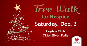 Third annual Tree Walk for Hospice
