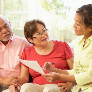 Role of a hospice social worker