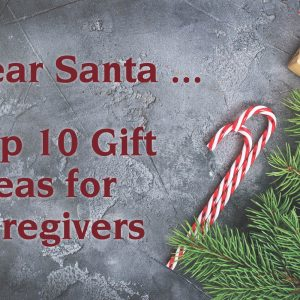 Dear Santa Top 10 gift ideas for caregivers
