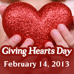 Giving Hearts Day is February 14!