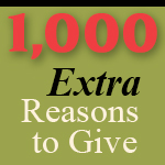 1,000 Extra Reasons to Give
