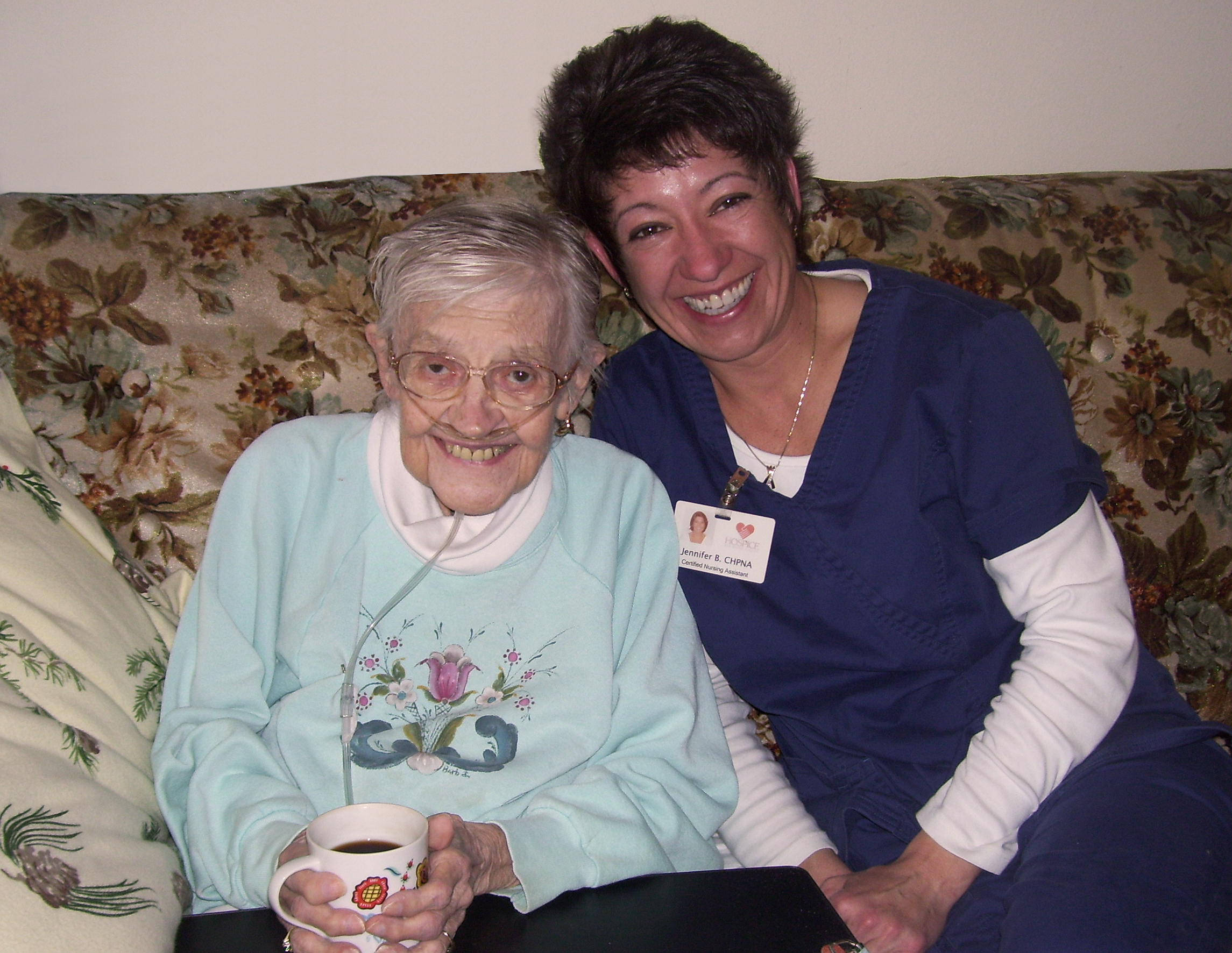 Heart to Heart: Hospice Staff a Precious Aid to a Patient