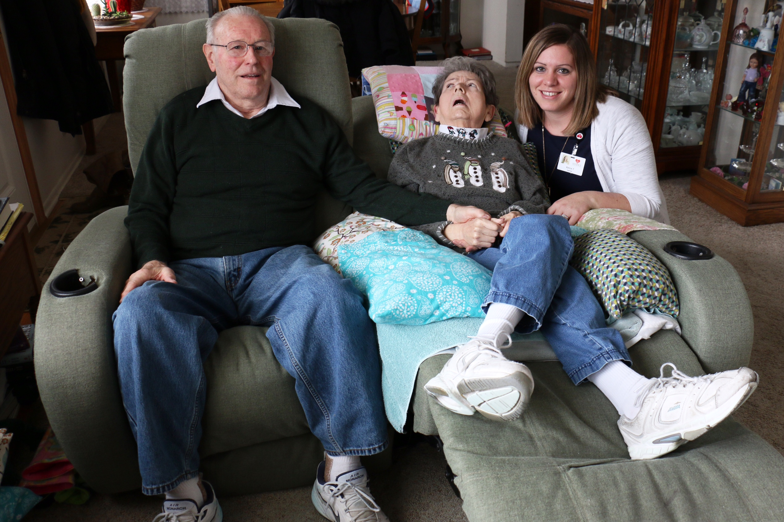 Embracing the Final Journey: Hospice Helps Husband Care for Wife with Alzheimer's