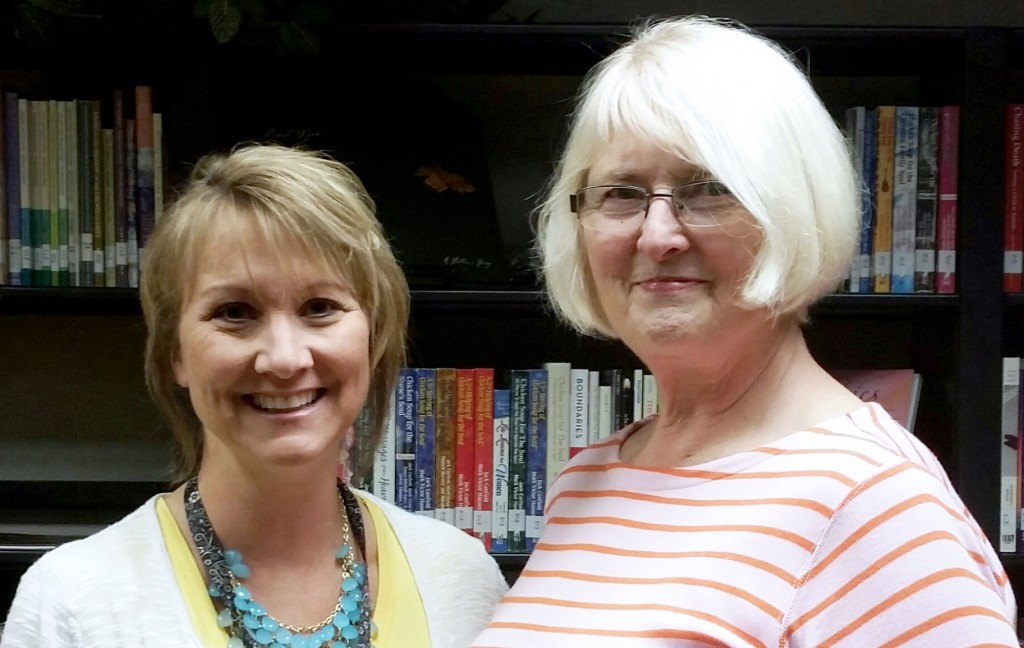 Judy Rippentrop and Wendy Tabor-Buth