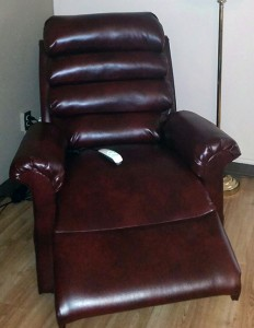 Lift chair donation from McNeilus