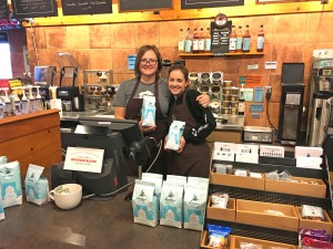 Grand Forks Caribou Coffee donation