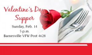 Barnesville Valentine's Day Supper 2016