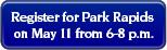 Park Rapids button