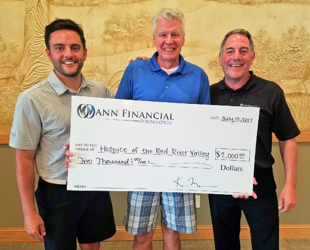 Mann Financial Check Presentation
