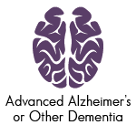 advanced alzheimer's or other dementia icon