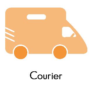 Courier Volunteer
