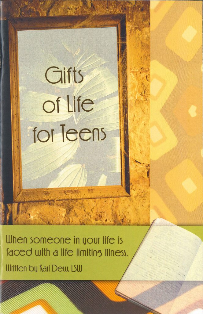 Book cover: Gift of Life for Teens