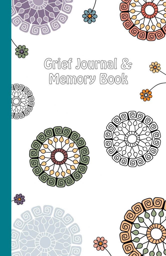 Book cover: grief journal