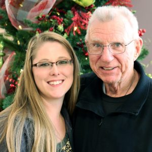Miranda and Tom, husband of a Hospice patient