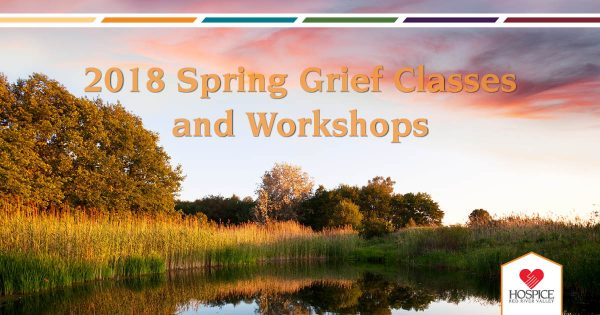 2018 Spring Grief Classes