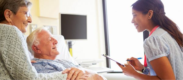 Hospice Care in a Facility