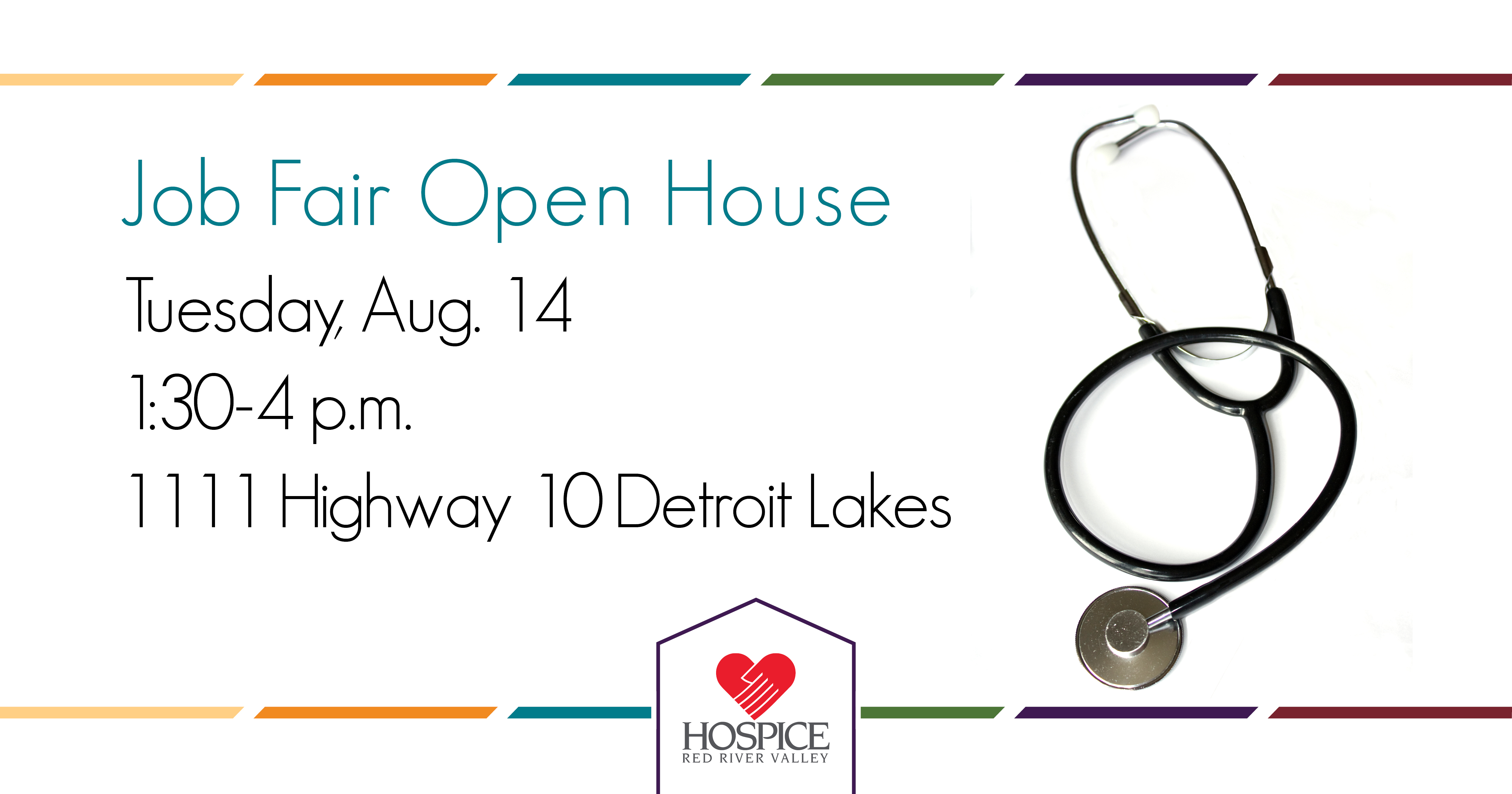 Job Fair Open House - Detroit Lakes - Hospice of the Red