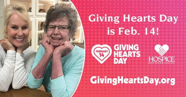 Giving Hearts Day is Feb. 14, 2019