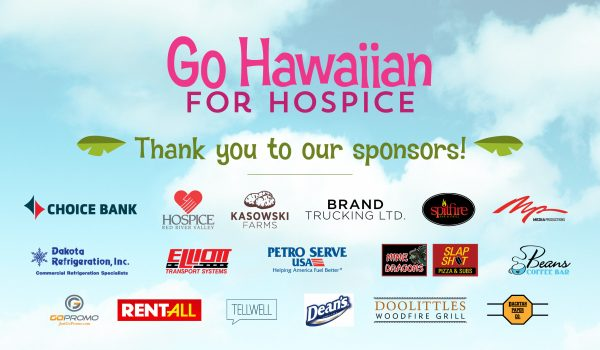 2019 Go Hawaiian for Hospice Sponsors