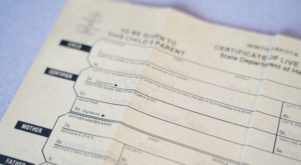 Angie Judd birth certificate