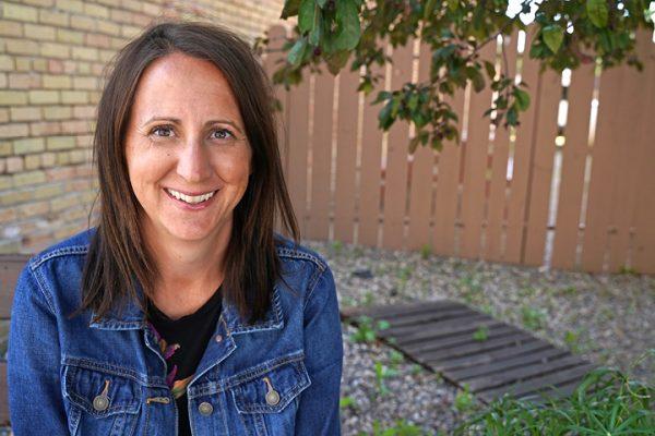Jennifer Messelt_woman sitting on bench
