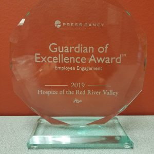 2019 Guardian of Excellence Award for Hospice of the Red River Valley