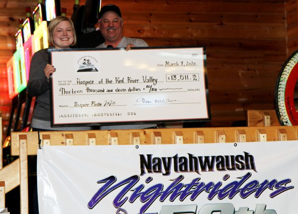 Naytahwaush Nightriders 2020 check presentation