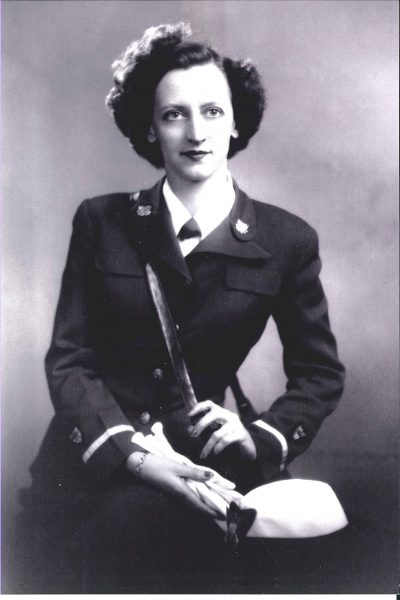 Terry joined the SPARs in World War II.