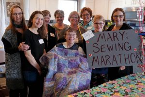 Threads of Love Create a Patchwork of Support for Woman on Hospice