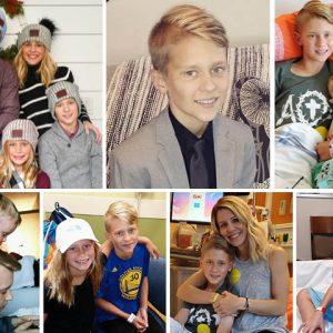 Landon Solberg family