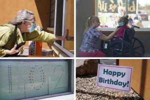 Hospice Patient, Family Celebrate 102nd Birthday Amid COVID-19