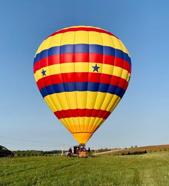 hot air balloon_Mary Sluke