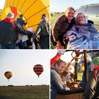 Mary Sluke_hot air balloon ride