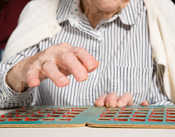 hands playing a game