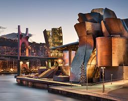 sculpture at the Guggenheim Museum