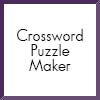 crossword puzzle maker icon
